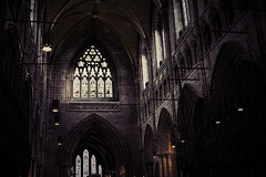 CHESTER CATHEDRAL (allancrutchley) Tags: uk england cathedral chester 1541 benedictinemonastery churchofengland blessedvirginmary stwerburghsabbey