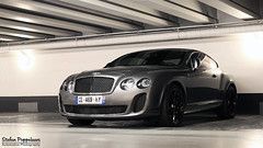 Bentley Continental Supersports Coup (Stefan Poppelaars Automotive Photography) Tags: show trip blue schoo