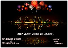 From Almere The Netherlands We Wish Everybody a FANTASTIC 2013 !!! (ShotsOfMarion) Tags: architecture buildings landscape arquitectura edificios nikon colorful flickr nightshot nederland thenetherlands paisaje wish paysage landschaft gebude architettura flevoland architectuur landschap almere vuurwerk edifici wensen gebouwen d60 architekture btiments flevopolder avondfotografie gelukkignieuwjaar bestewensen paessagio larchitecture klerrijk skylinealmere shotsofmarion bestwishes2013 fantastic2013 debestewensenvoor2013