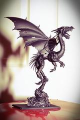 Black Dragon - Basecoat (Kirsty Brown Memento Studios) Tags: photo model dragon games hobby workshop warhammer 365 modelling challenge