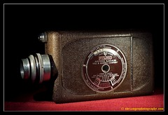 BELL & HOWELL FILMO. 1 (adriangeephotography) Tags: camera old classic film glass leather 35mm vintage movie lens photography early cine collection chrome adrian gee 8mm 16mm array collectable adriangeephotography