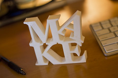 MAKE (Pete Prodoehl) Tags: art make plastic abs 3dprinting reprap