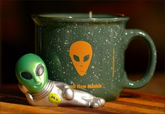 Tea and Aliens (Jo Z..Another Hot Day On The Mesa!!) Tags: roswellnm nikond5100 alienknickknack