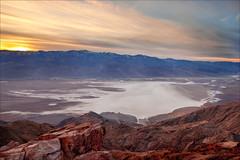 { spilled milk } (allen ninh) Tags: california road park trip camping sunset black mountains canon view salt peak basin flats telescope national deathvalley dantes badwater 1740l 5dmkii