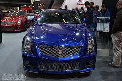 Cadillac CTS-V (Raphael Valena) Tags: show paris sport 911 s porsche toyota