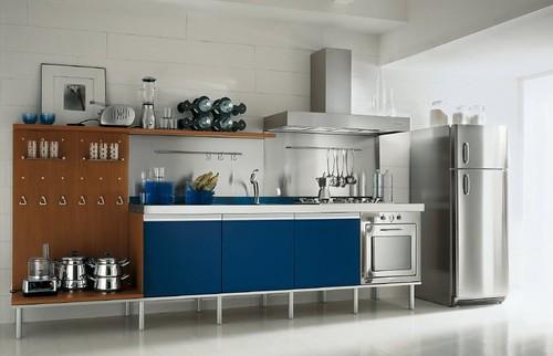 Las ventajas de usar muebles de acero inoxidable en la cocina son