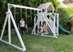 IMG_1095 (Swing Set Solutions) Tags: set play swings vinyl slide structure swing solutions playset polyvinyl