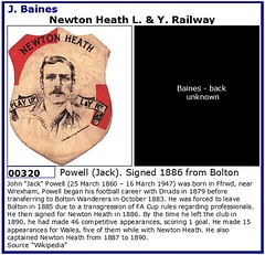 00320 Newton Heath L & Y R - Powell (Alan1899bluebird) Tags: heath newton baines