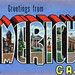 Greetings from Americus, Georgia - Large Letter Postcard
