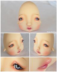 Neferkane Humpty Dumpty for Melissa (Eludys) Tags: doll bjd humpty dumpty custom faceup neferkane eludys