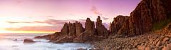 R O S I R (Tim Poulton) Tags: sunset seascape clouds landscape nikon victoria panoramic phillipisland schneider d800 tiltshift schneiderpctssuperangulon50mm