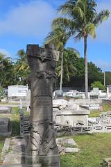Key West (Florida) November 2012 2304b 4x6 (edgarandron - Busy!) Tags: cemeteries cemetery keys florida keywest floridakeys keywestcemetery