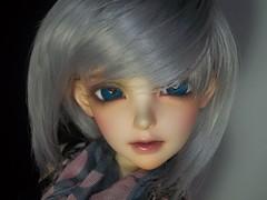 Lady in Grey (leishaj777) Tags: rene size sd bjd luts hybrid delf 70 fairyland rona feeple