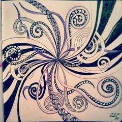 day 57 (Nadik25) Tags: art moleskine drawing doodle zen meditation 365 doodling zentangle zendoodling instagram zenstagram