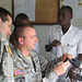 USARAF, Benin Soldiers share ideas to defeat infectious diseases