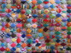 punchwork diamonds detail large (Kathejo B) Tags: art design artwork needlework handmade sewing textiles diamondpattern punchwork kathejob multicoloredpattern