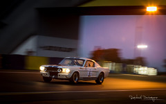 Shelby Mustang G.T.350 (Raph/D) Tags: le mans classic 2016 lemansclassic canon eos 7d mark ii canoneos7dmarkii l series lseries catchy colors race car racing racer endurance historic motorsport legend sarthe circuit track piste peter auto shelby mustang gt 350 gt350 ford caroll us usa american sportscar 1965 pony muscle white stripes blue morning dawn sunrise early v8 dunlop bridge panning shot fil speed motion vitesse movement 70200mm ef70200mmf28lusm