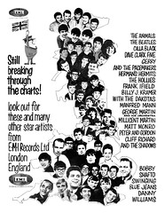 1964 emi records artists (Al Q) Tags: 1964 emi records artists animals beatles dave clark five gerry pacemakers hollies frank ifield billy kramer dakotas manfred mann george martin millicent matt monro peter gordon cliff richard shadows bobby shafto swinging blue jeans danny williams