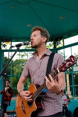 (RVST) Tags: live music gig bandstand weston park sheffield tramlines guitar microphone