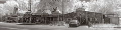 Short Ridge Ghost Town (PhotoAtelier) Tags: infrared ghost town