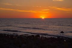 Sunset over land (martindjupenstrom) Tags: land sunset lngeerik balticsea stersjn byxelkrok nabbelund grankullavik swedishcoastline kalmarln sweden