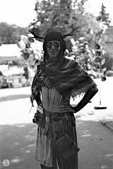 Prepared for anything (Qdaty) Tags: 2016 50mm breslau wrocaw bw cosplay film iso50 kodak monochrome monocrome nikon outdoor parodinal poland polcon polcon2016 sierpien tylenol pl