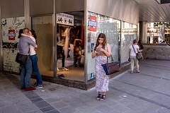 . (www.piotrowskipawel.pl) Tags: mnchen bayern germany streetscene colorstreetphotography streetphotography street city public documentary documentaryphotography pawepiotrowski piotrowskipawel piotrowskipawelpl couple girl smartphone wifi freewifi