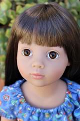 My lovely Emily.... (dambuster01) Tags: gotz happykidz emily 2015 rewigged vinyl 19inches doll