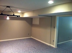 Finished Basement, Geist (devinaodom) Tags: photostream finished basement drywall billiards demolition painting carpentry electricalwiring plumbing interiordesign finishcarpentry doors trim walls insulation ceiling flooring carpet