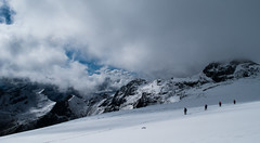 Stalking Shadows (gregorio_rossi) Tags: hohe tauern mountains grossglockner grosglockner glacier montagna hiking austria snow ice alti tauri alps alpi