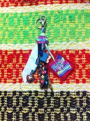 IMG_6239 (Atelier Renata GAM) Tags: portachaves crochet tecidos corao feltro casinha de madeira atelier renata gam