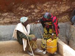 Talking nearby water (Borana Ethiopia) (davidevarenni) Tags: pozzo anziani borana etiopia tribe trib ethiopia