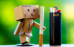 bokeh, lamazon, cigarette and bio-gas (Florian Grundstein) Tags: post porst tele 135mm no15111 olympus mft em10 bokeh soft juicy colours macro green danbo abstract kse gschmarre herumgespielt