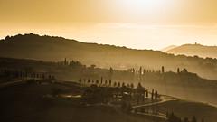 Bella Toscana!! (marco soraperra) Tags: toscana tuscany valdorcia pienza sunlight sunrise nikon nikkor light shadow