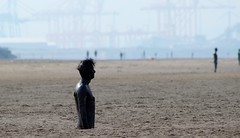 Antony Gormley's Another Place, Crosby (bramhallian@yahoo.com) Tags: crosby antony gormleys another place