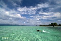 Swimming at Yang-in (engrjpleo) Tags: yanginsandbar cagbalete island mauban quezon philippines sea seascape water waterscape landscape seaside shore coast outdoor travel sky cloud clouds beach ocean