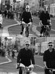 [La Mia Citt][Pedala] con il bikemi (Urca) Tags: milano italia 2016 bicicletta pedalare ciclista ritrattostradale portrait dittico nikondigitale mir bike bicycle biancoenero blackandwhite bn bw bnbw 881130 bikemi bikesharing