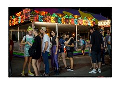 face licker (karl d'mello) Tags: people young cne toronto canada amusements street night lights