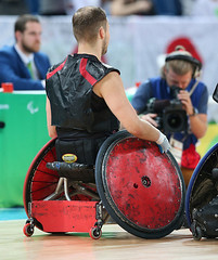 Matthew Murnaghan:Canadian Paralympic Committee-sept201691860 (Wilson School of Design at KPU) Tags: wheelchair rugby men paralympic games riodejanerio brazil