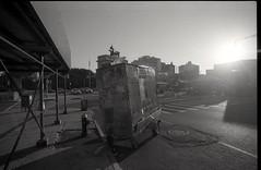 sunrise grand army plaza brooklyn (triebensee) Tags: nikon f2 photomic fujineopanacros fujineopanacros100 ilfordddx 14 selfdeveloped epsonv700 nikkor 18mm f4