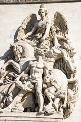 Arc de Triomphe (mionnay) Tags: 2016 paris arcdetriomphe sculpture neoclassicism