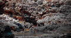Taking a bath (Robban.G) Tags: water summer sunlight rocks rock vatten bad bada canon p7100 mallis mallorca lagun