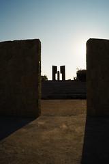 Anfiteatro Cerro Chacarillas, Santiago. (Katherine Ruiz Atal) Tags: atardecer arquitecture arquitectura contraste