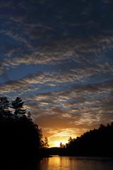 Sunrise on Long Lake (sputnikmoonmonkey) Tags: sunrise landscape beautiful