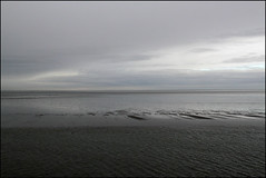 grey all over (Elly Snel) Tags: ameland island nl ferrytrip overtocht waddensea waddenzee grey grijs