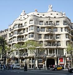 Casa Mila (OSChris) Tags: gaud lapedrera spain casamil barcelona