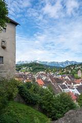 Feldkirch von der Schattenburg aus gesehen (thunderbird-72) Tags: altstadt sterreich burg austria vorarlberg stadt schattenburg feldkirch gebude at