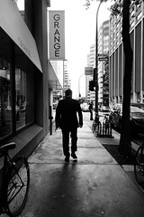 man versus mission (Reb Frost Urban Photography (Experimental)) Tags: bnwstreetphotography streetphotography streetsofmontreal streetscenes montreal montrealphotos montrealphotography