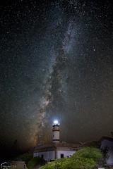 Cap Far de ses Salines (piclex) Tags: valctea nocturna largaexposcin longexposure faro lighthouse mallorca estrellas stars tokina milkyway