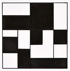 Blocks (ElDel777) Tags: geometric drawing art blackandwhiteart blackandwhite penandink pen ink doodle minimalist minimilst minimilist graphics squares rectangle outsider modernart postmodernart abstract abstractart
